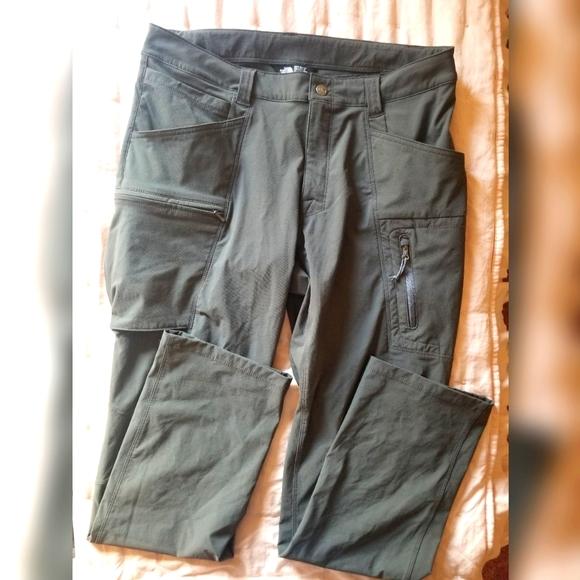 The North Face Nylon Grey Pants 32x32